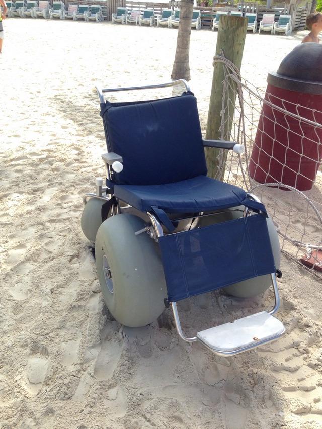 Castaway Cay Island Wheelchair Bigfoot