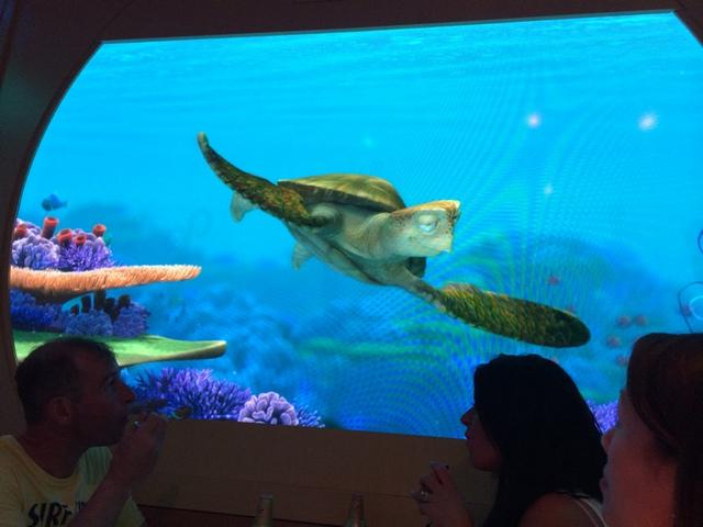 Disney Cruise Dream Animator Palate TurtleTalk
