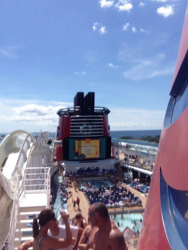 Disney Cruise Dream Aqua Duck 1