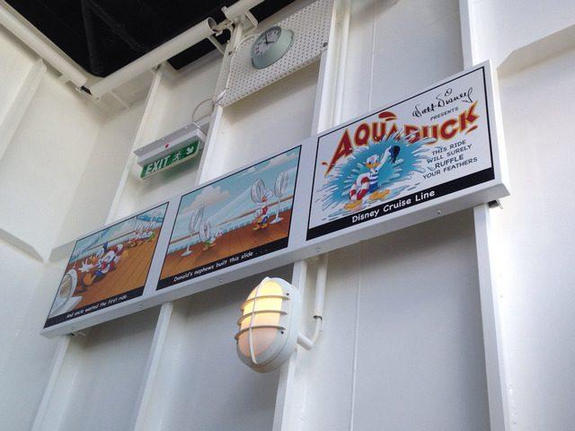 Disney Cruise Dream Aqua Duck 4