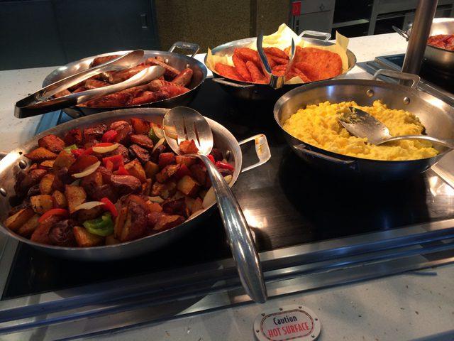 Disney Cruise Dream Cabanas Breakfast Food 1