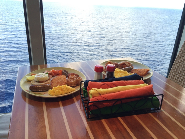 Disney Cruise Dream Cabanas Breakfast Food 2