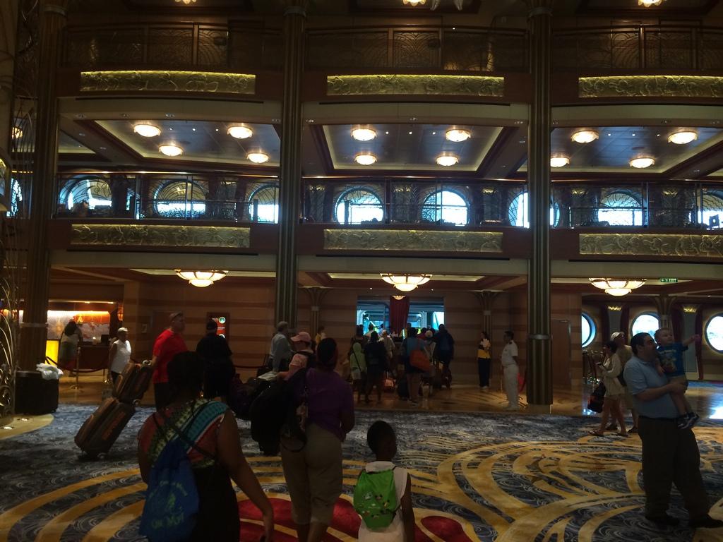 Disney Cruise Dream Goodbye