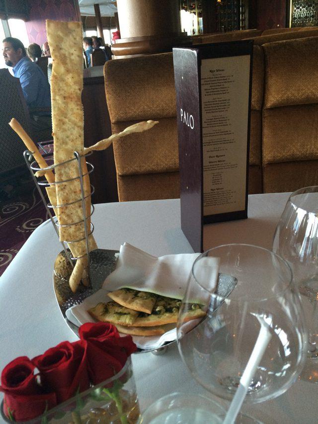 Disney Cruise Dream Palo Dinner Food 1