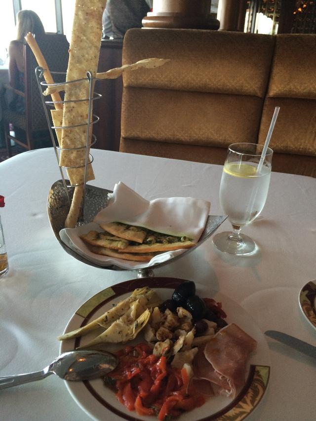 Disney Cruise Dream Palo Dinner Food 3