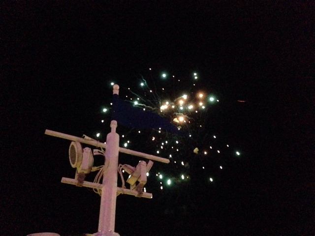 Disney Cruise Dream Pirate Night Party Firework 2