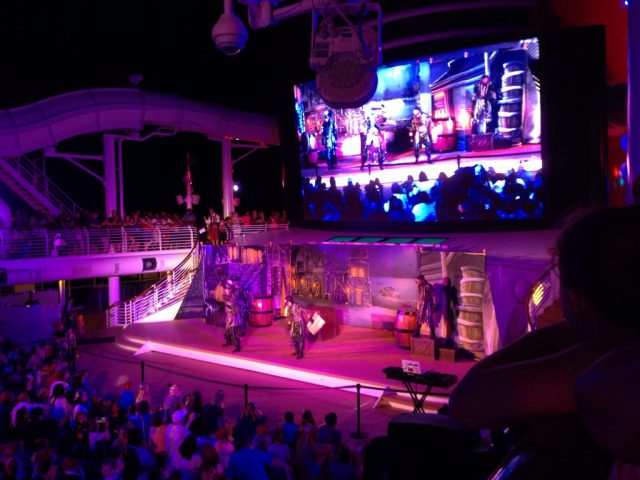 Disney Cruise Dream Pirate Night Party 2