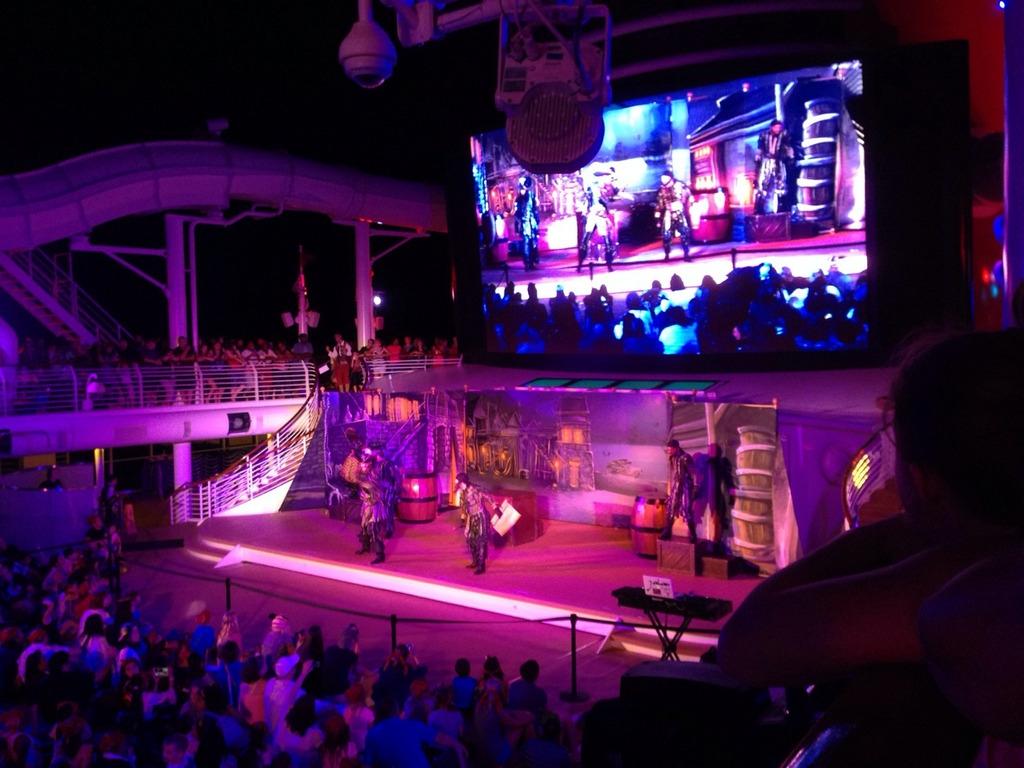 Disney Cruise Dream Pirate Night Party 2