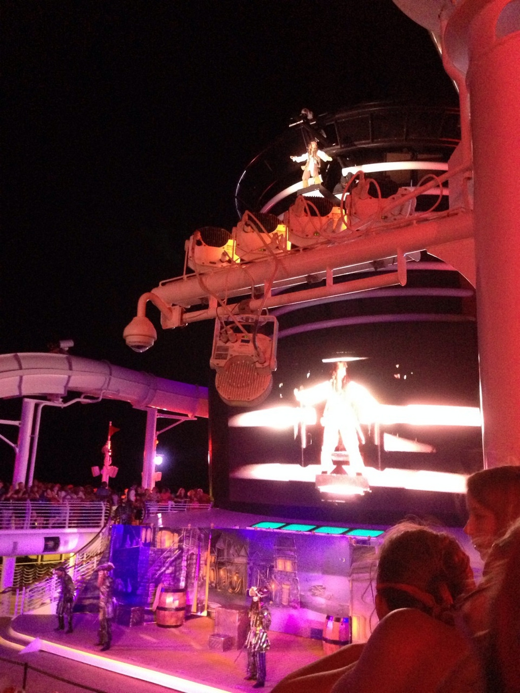 Disney Cruise Dream Pirate Night Party 3