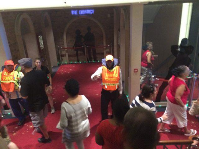 Disney Cruise Dream Ship Evacuation Practice 1