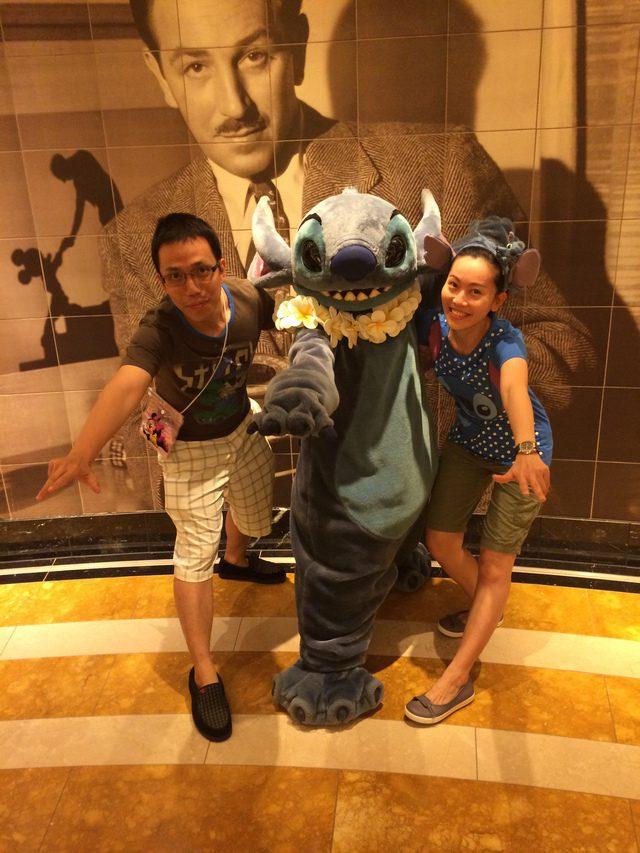 Disney Cruise Dream Stitch Appearance 1
