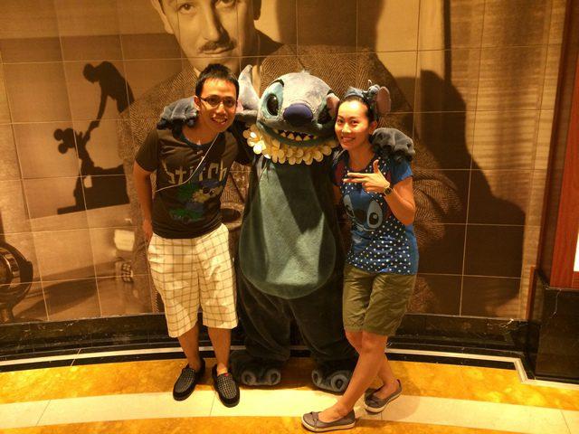 Disney Cruise Dream Stitch Appearance 3