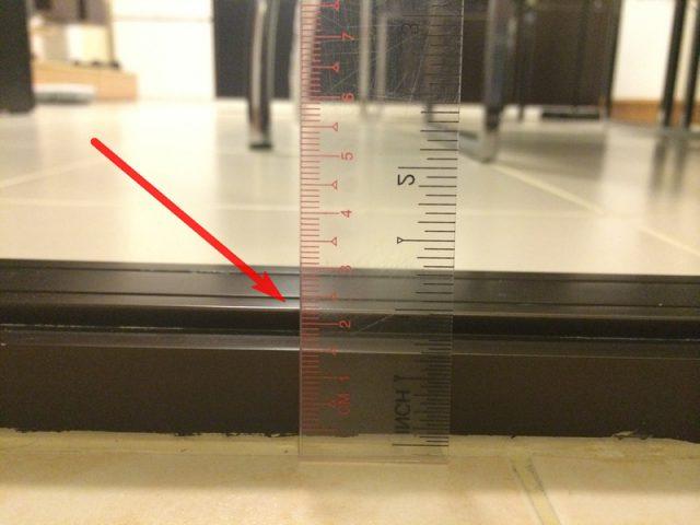 Floor Between Living Room and Kitchen Height