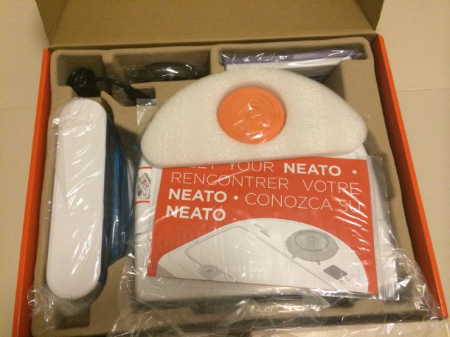 Neato Botvac 70e Box Unpacked Inside Uncovered
