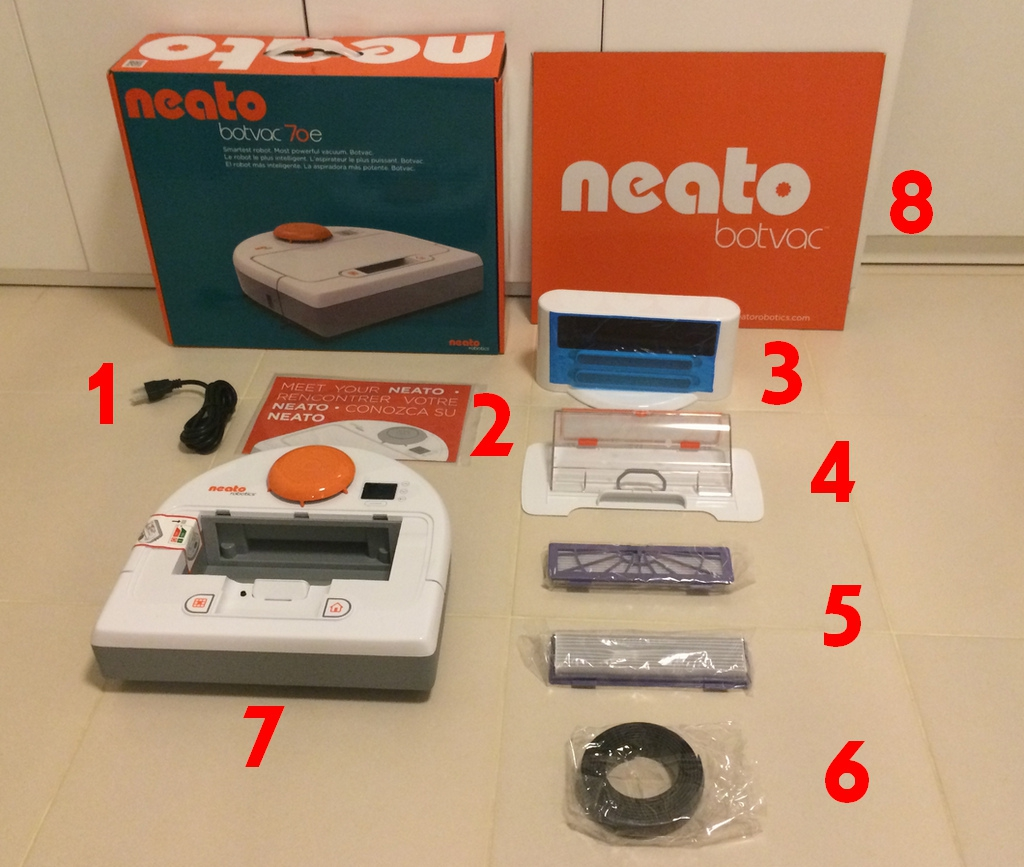 Neato Botvac 70e User Component