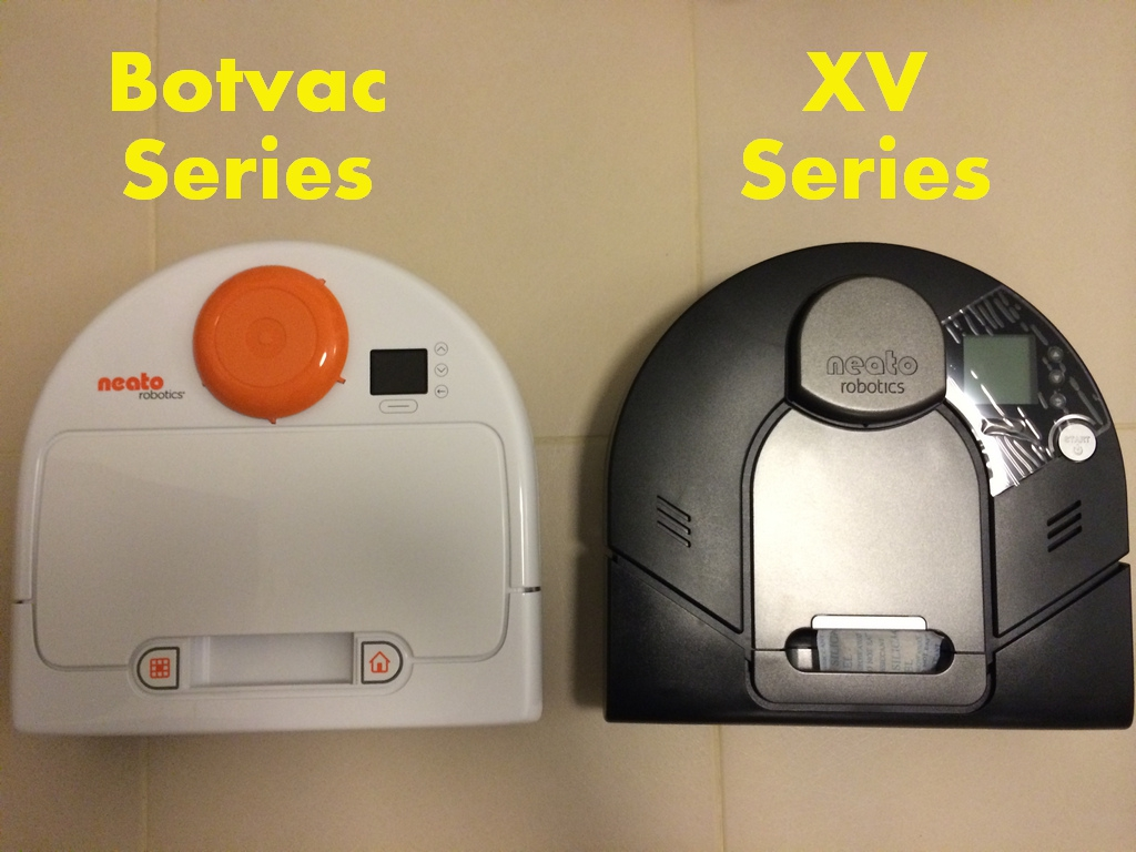 Neato XV and Botvac Series Machine Comparison