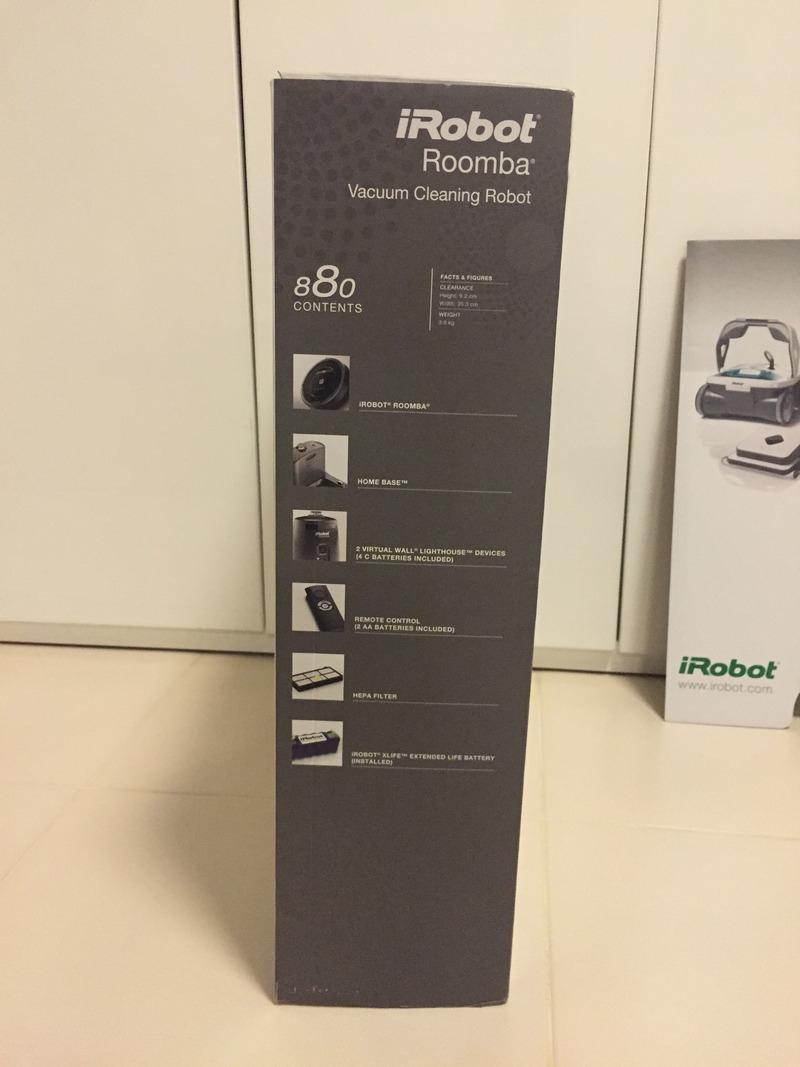 iRobot Roomba 880 Box Left