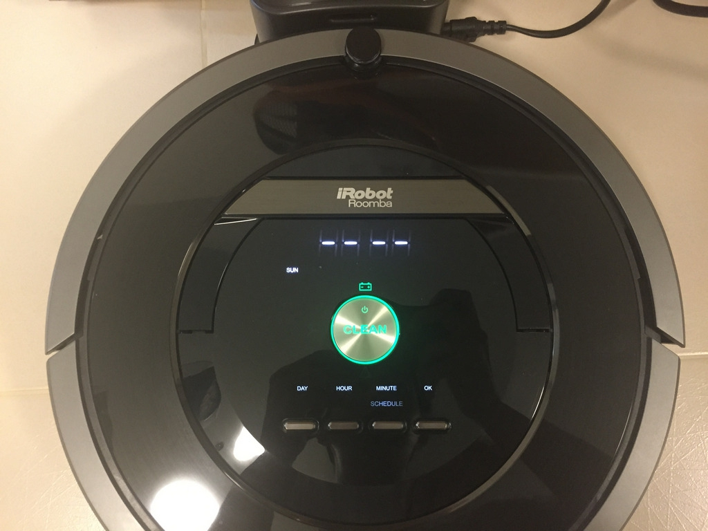 iRobot Roomba 880 Schedule Setting