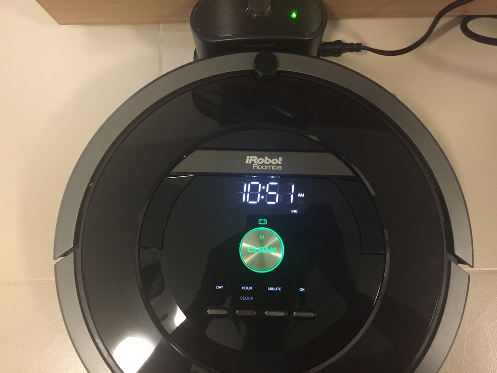 iRobot Roomba 880 Time Setting