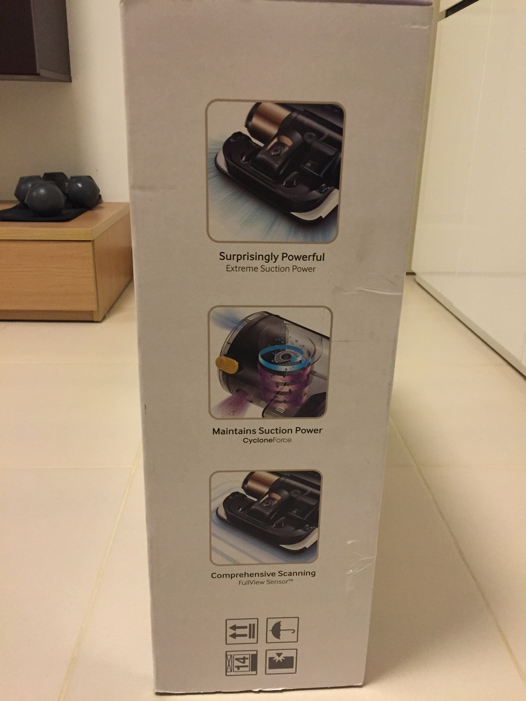 Samsung Powerbot VR9000 Box Right