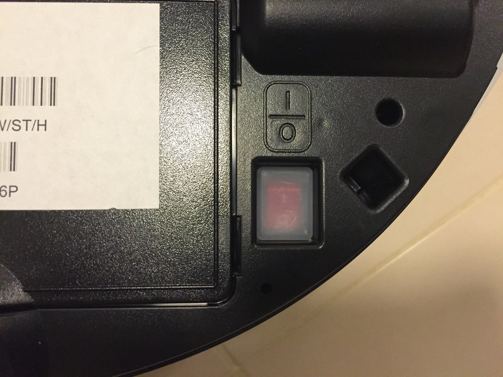Samsung Powerbot VR9000 Power Switch