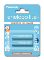 Eneloop Lite Rechargeable Battery Package