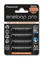 Eneloop Pro Rechargeable Battery Package