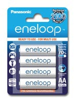 Eneloop Rechargeable Battery Package
