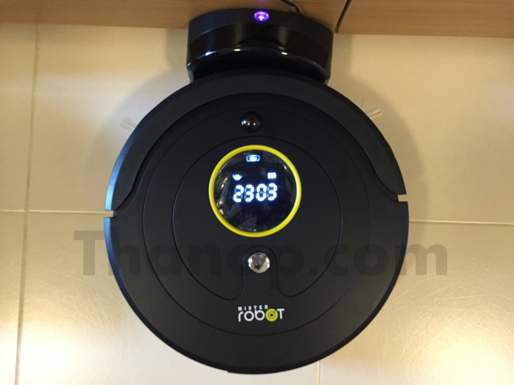 Mister Robot Jupiter Charging from Charge Base