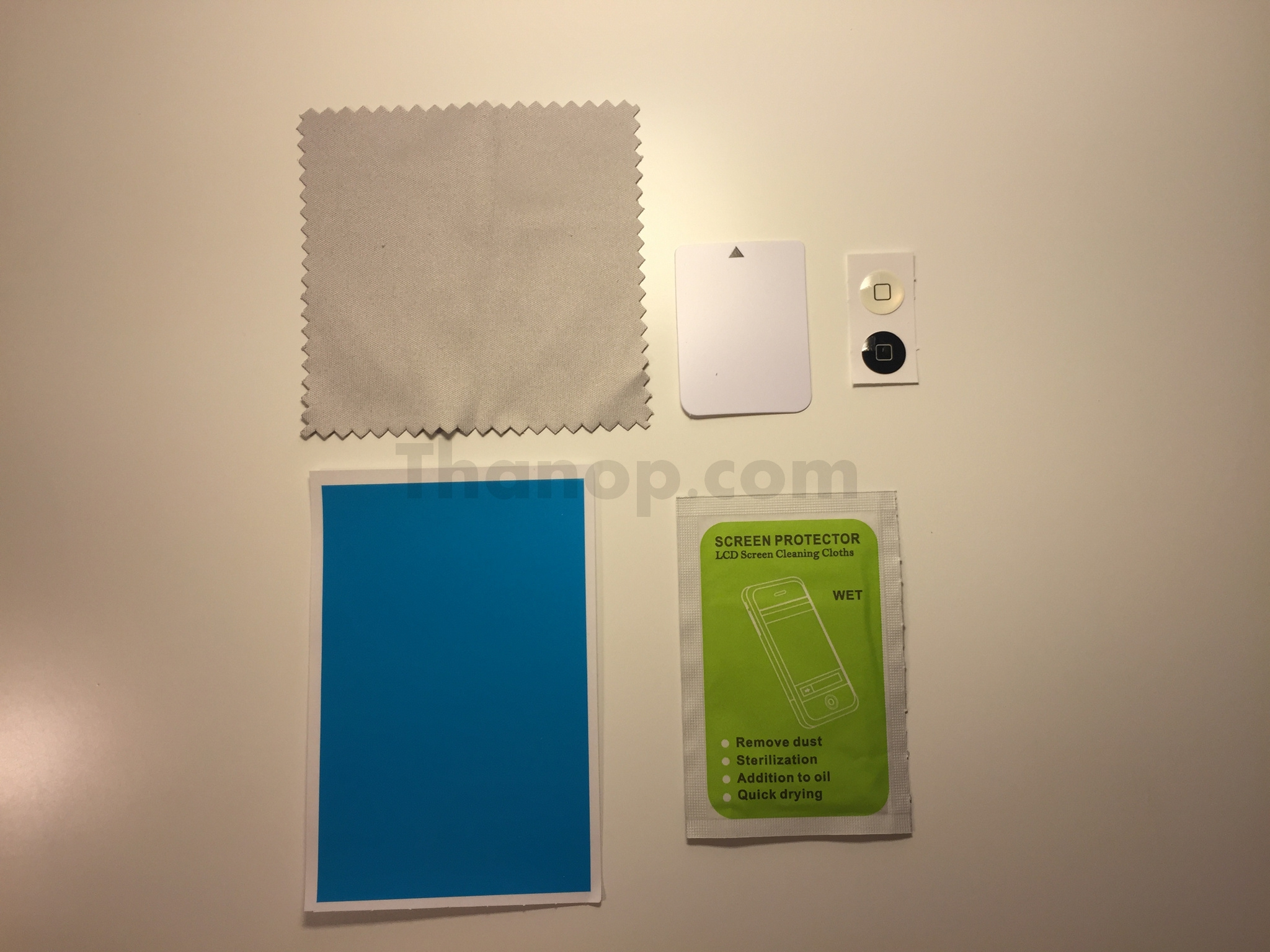 Commy Screen Guard Tempered Glass Inside Envelope