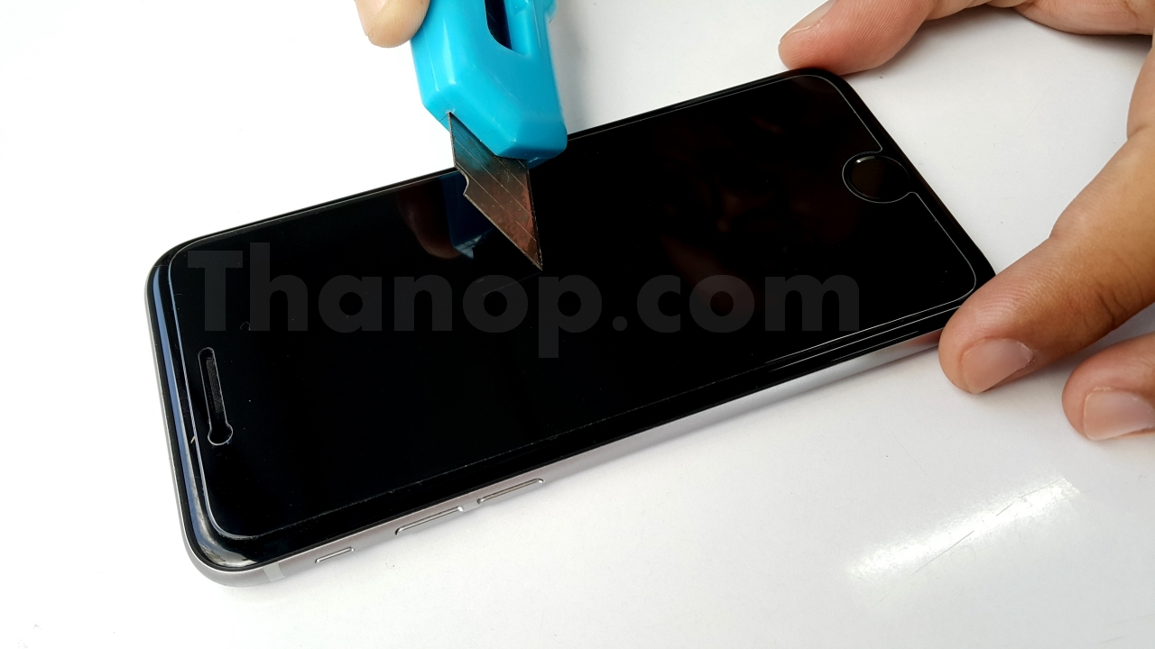 Commy Screen Guard Tempered Glass Test with Cutter