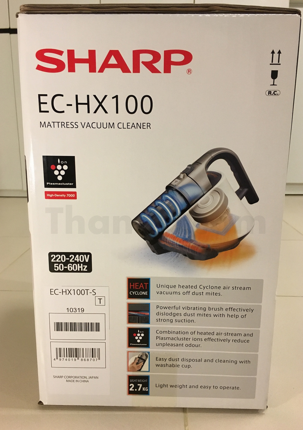 Sharp EC-HX100 Box Right