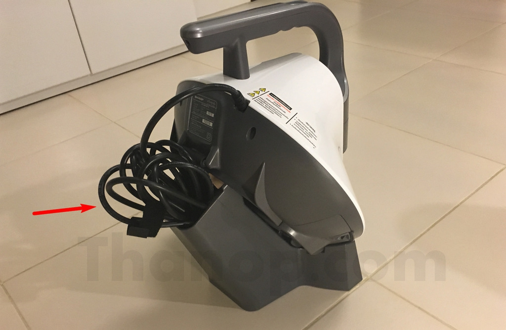 Sharp EC-HX100 Stand with Machine Back