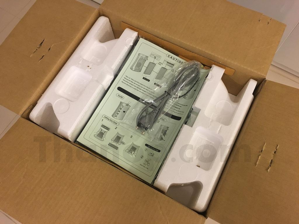 Sharp FP-FM40B-B Box Unpacking 1