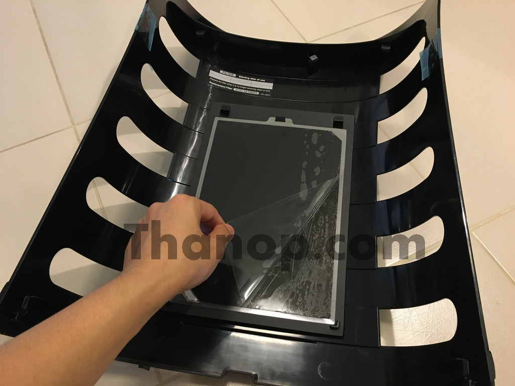 Sharp FP-FM40B-B Catch Panel with Glue Sheet Installing
