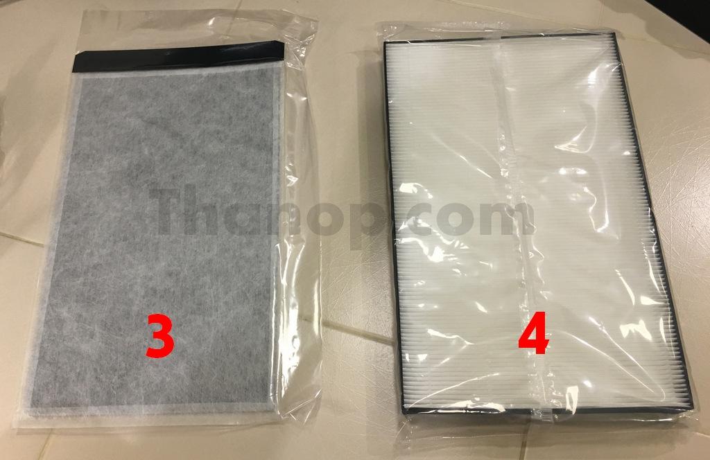 sharp-fp-fm40b-b-deodorizing-and-hepa-filter