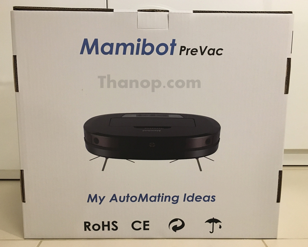 Mamibot PreVac Box Rear