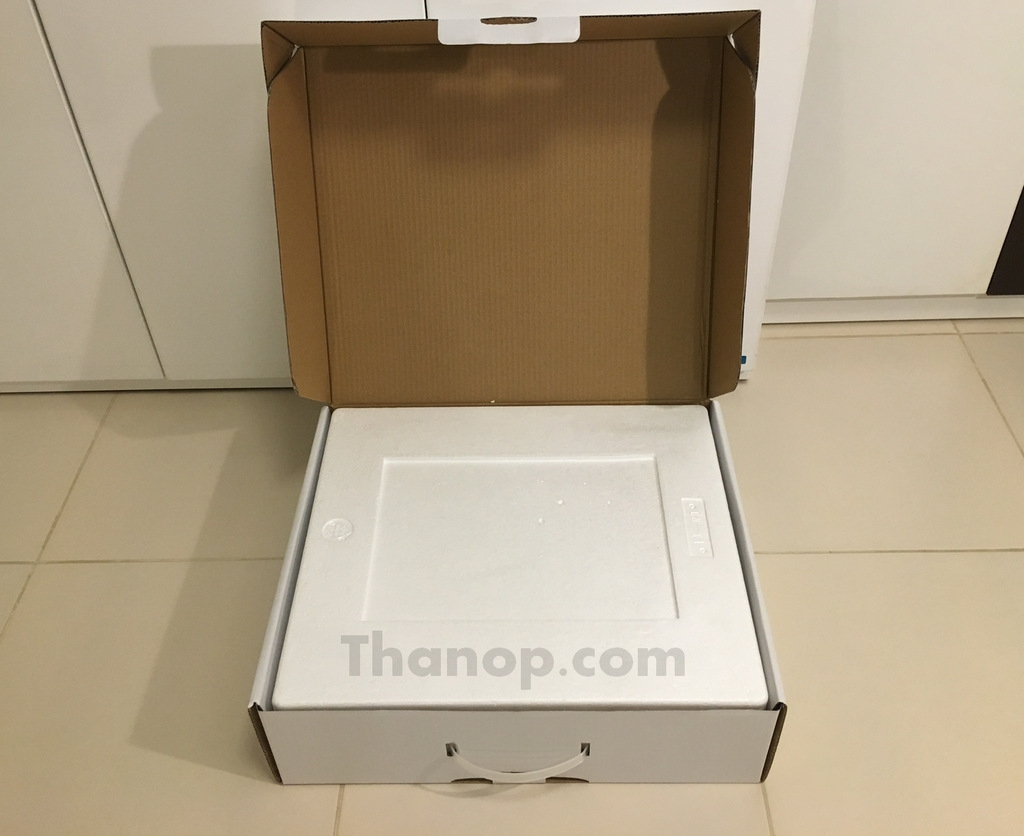 Mamibot PreVac Box Unpacked with Cover