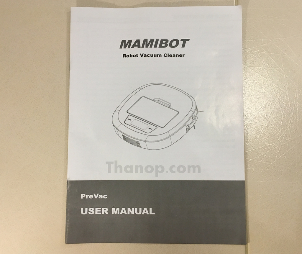 Mamibot PreVac User Manual