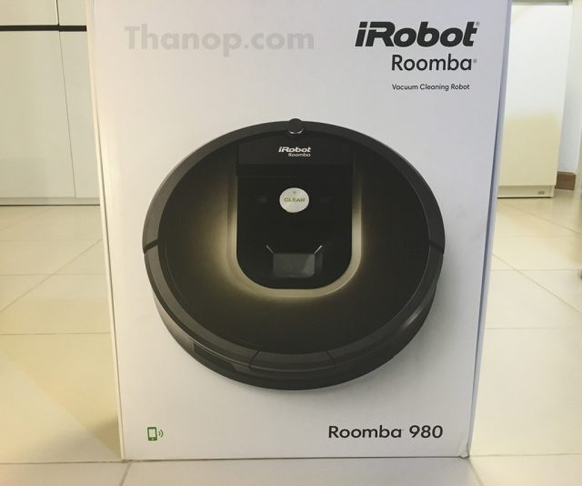 iRobot Roomba 980 Box Front