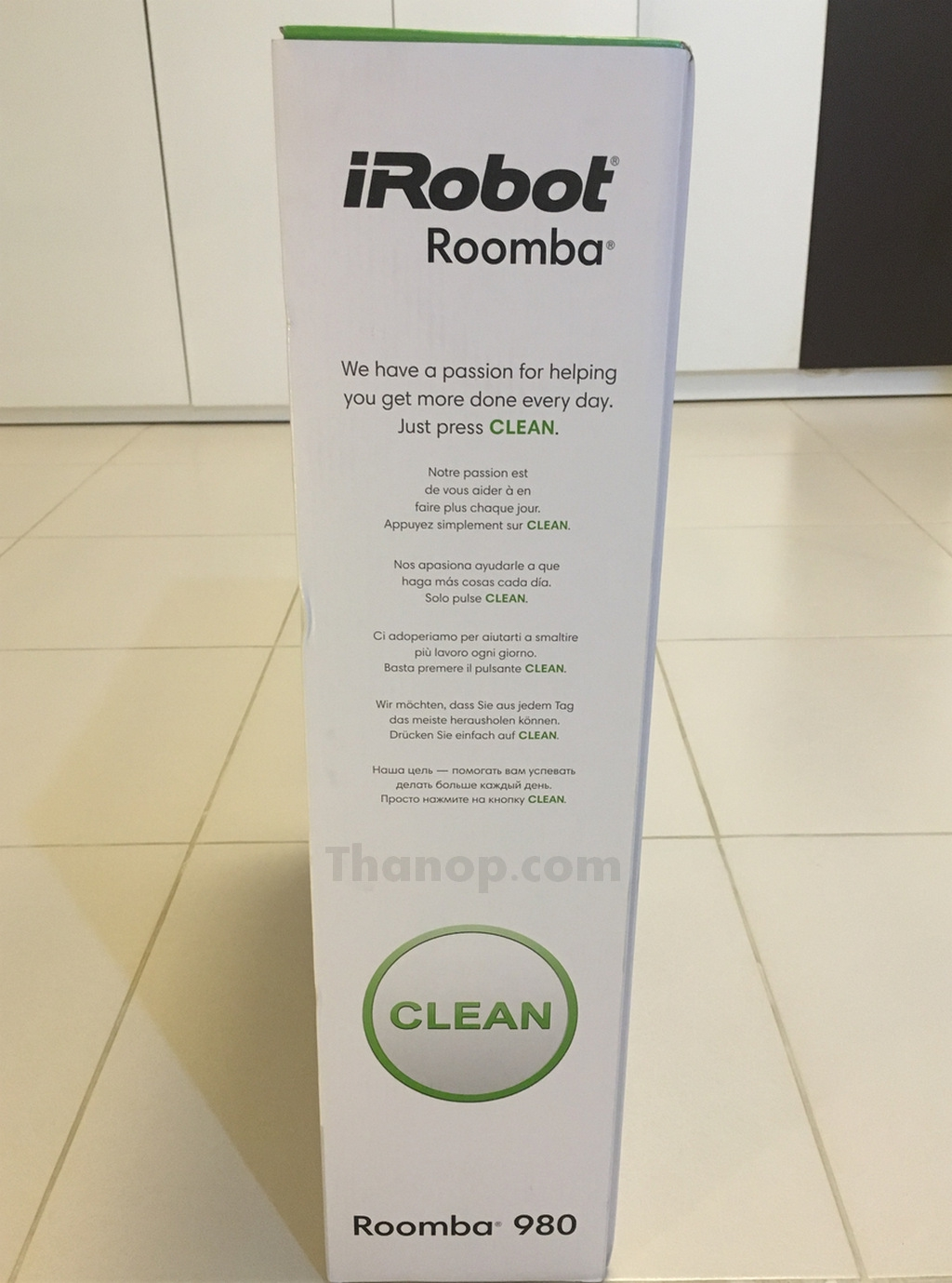 iRobot Roomba 980 Box Left