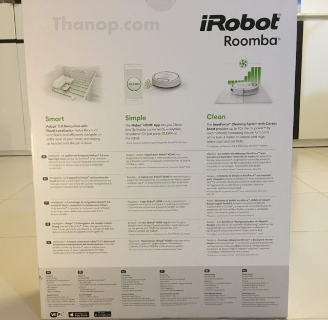 iRobot Roomba 980 Box Rear