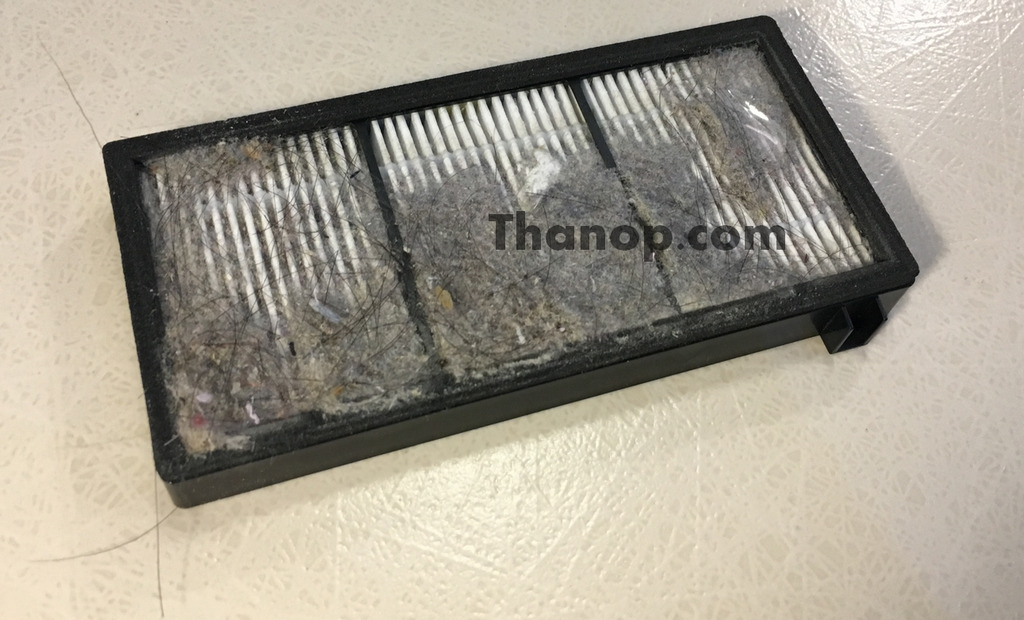 iRobot Roomba 980 HEPA Filter After Used