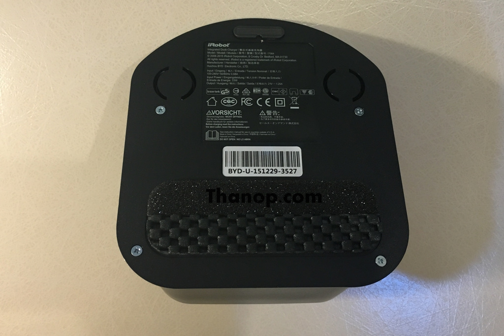 iRobot Roomba 980 Home Base Underside
