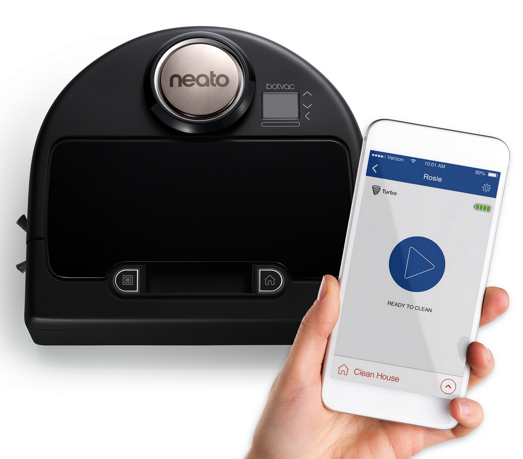 Neato Robotics and iRobot in USA Store