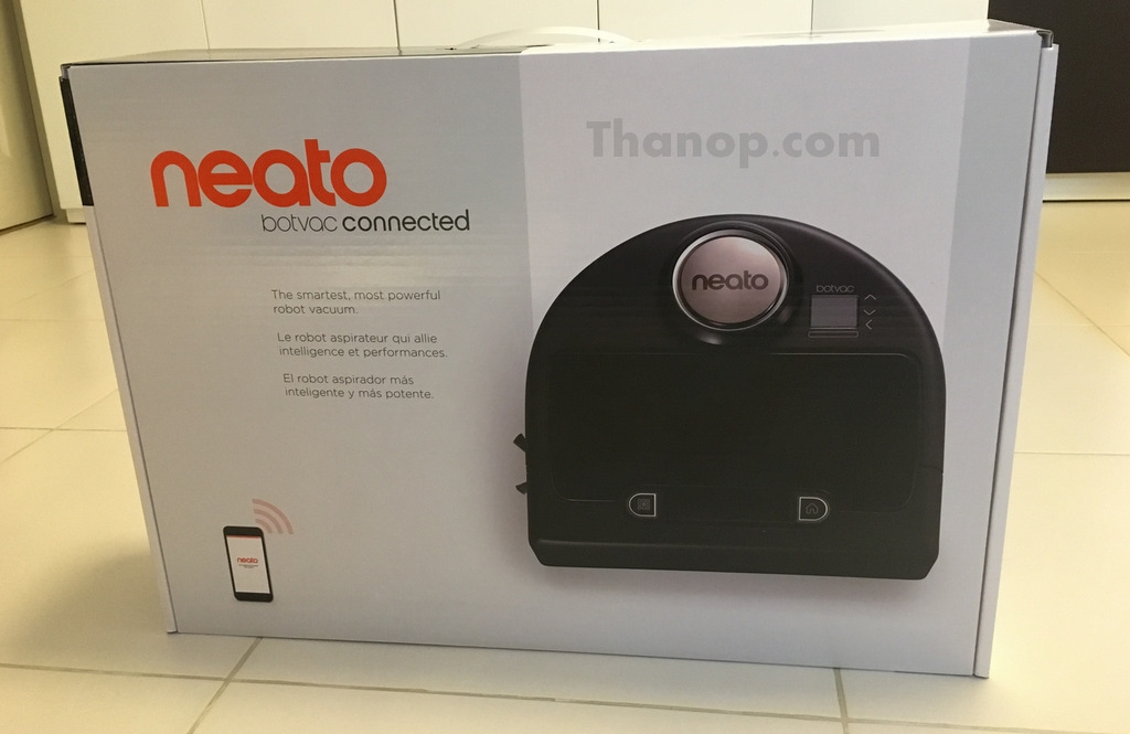 Neato Botvac Connected Box Front