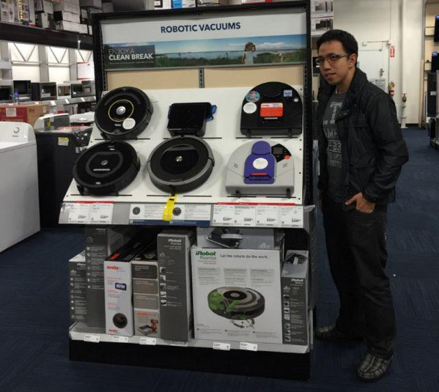 Neato Robotics and iRobot in USA Store