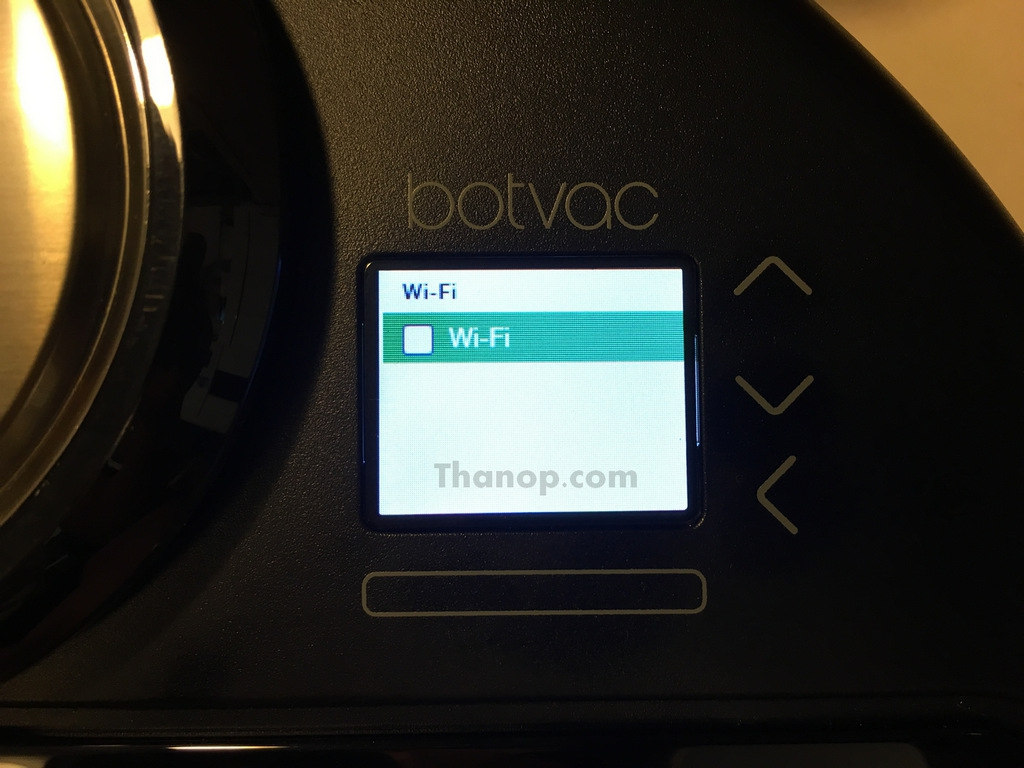 Neato Botvac Connected Setup 2 Turn On WiFi