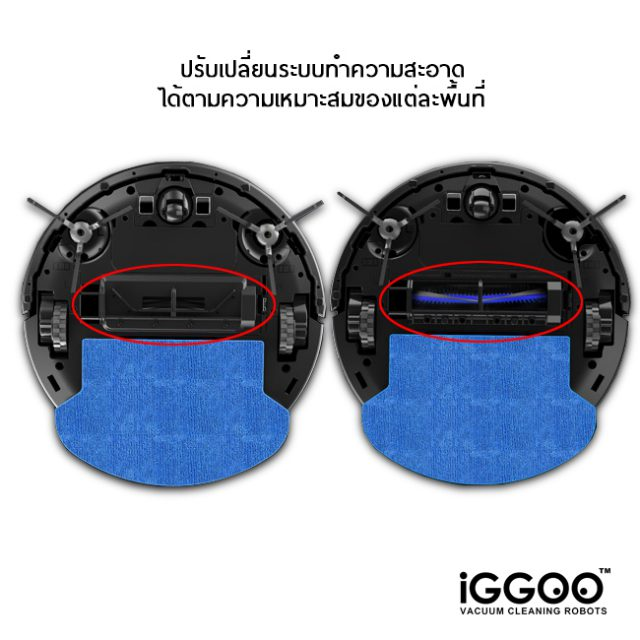 iGGO AQUA Alternative Vacuum Compontents