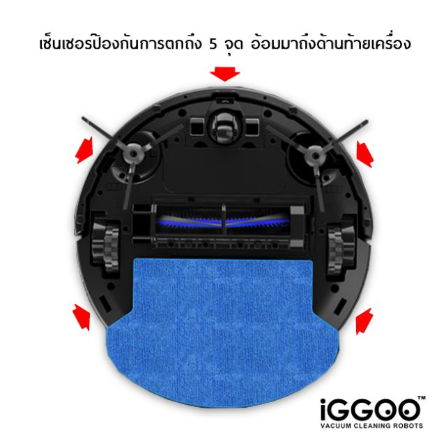 iGGOO AQUA Anti Drop Sensor